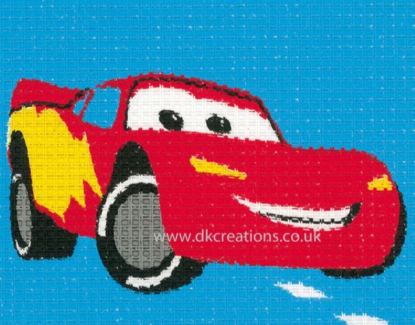 Disney Cars Lightning McQueen Tapestry Kit